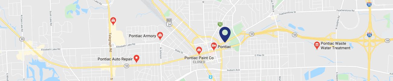 PONTIAC LOCATION