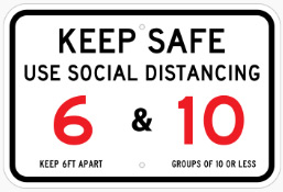 Keep Safe Sign By Michigan Custom Signs