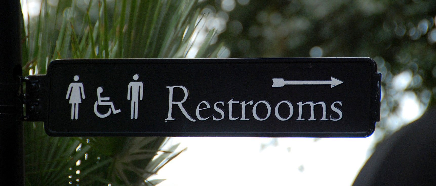 Restrooms Sign By Michigan Custom Signs