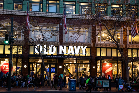 Old Navy Storefront Sign By Michigan Custom Signs