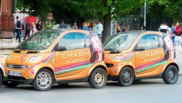 Charm Studios Vehicle Wrap By Michigan Custom Signs