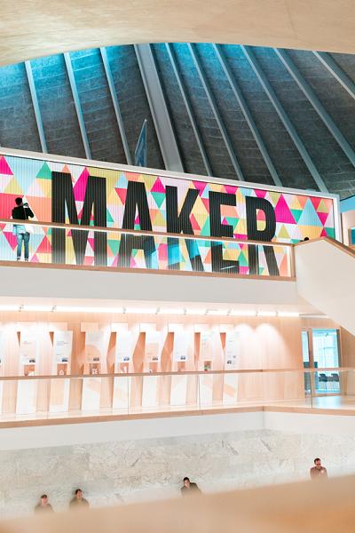Maker Wall Mural By Michigan Custom Signs