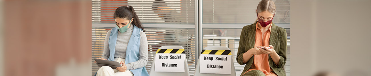 Keep Social Distancing Sign By Michigan Custom Signs